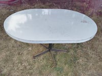 Sturdy heavy table. We've used it for outside BBQn or artst and crafts Beaverton