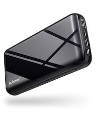 20000mAh Portable Charger Power Bank w/ 3 Inputs, NEW IN BOX 12 PRICE