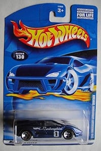 Hot Wheels Lamborghini Countach 25th Anniversary Oklahoma City