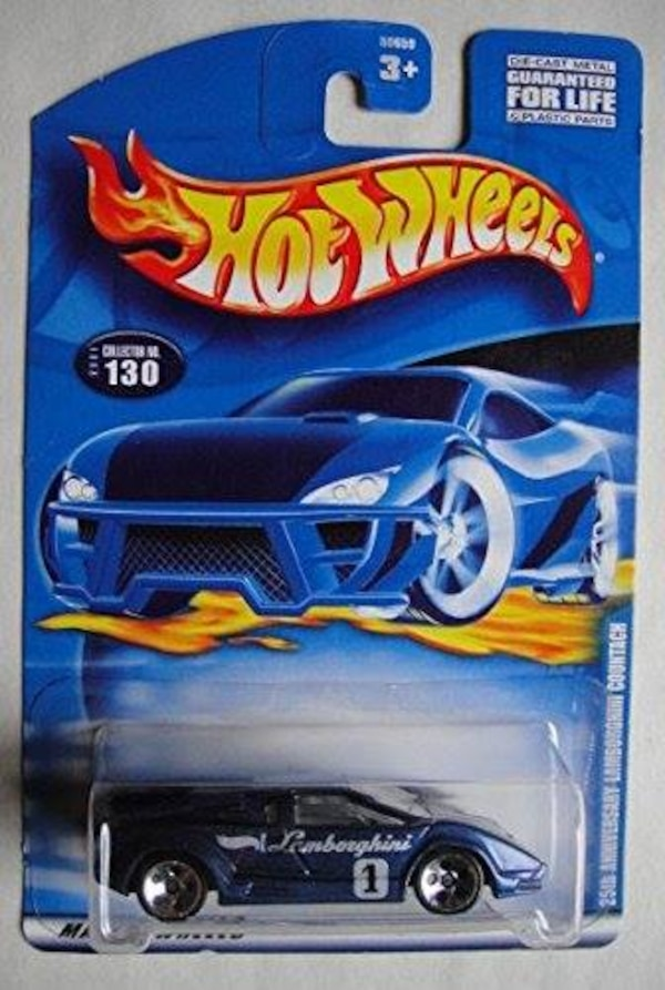 used hot wheels lamborghini countach 25th anniversary for sale in