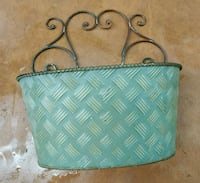"""Metal container 8"""" long, 2.5"""" wide, 10"""" high, Murfreesboro, 37127"""