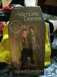 Vampire Diaries 750 piece puzzle brand new never o Coopersburg, 18036