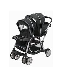 Graco Ready2Grow click Connect LX Double Stroller (Gotham) Alexandria, 22312