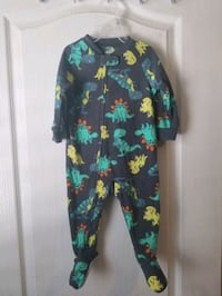 Never worn. Fleece pajama 12Month. Child of Mine  by Carters