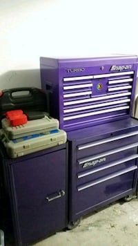Tool box with tools  Hoover