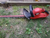 red Black and Decker hedge trimmer 62 km