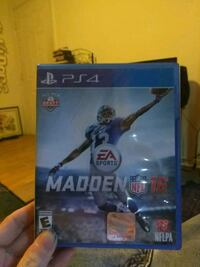 Madden NFL 16 PS4 game case Anderson, 29621