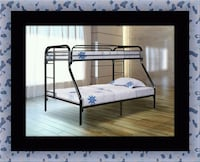 Full twin bunkbed frame Seat Pleasant, 20743