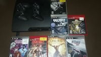 Ps3, 2 Wireless controllers, 7 games Fort Smith, 72901