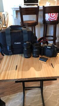 Canon 80D comes with 18-55mm & 55-250mm lens 2371 mi