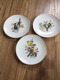 Bird Decor plates
