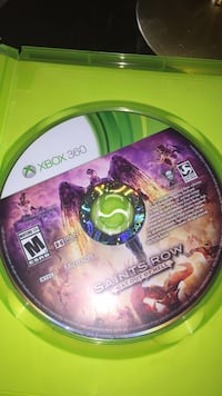 Xbox 360 Gears of War 3 game disc Washington, 20011