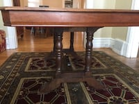Krug solid made in Ontario dining table   537 km