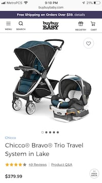 Chicco stroller and car seat good condition Ashburn, 20147