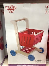 Tooky toy shopping cart New unopened box regular price $70  Montréal, H3A 2A4