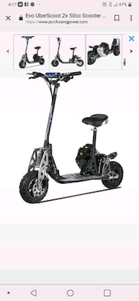 black and gray Razor electric scooter Birmingham