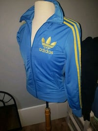 blue and yellow Adidas zip-up jacket Moncton, E1C 6W8