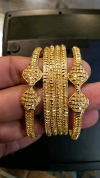 6pc 22k gold bangles set Karachi