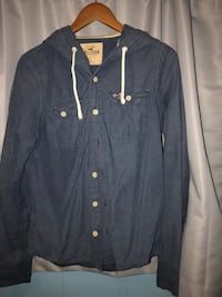 hollister button-up long-sleeved hoodie San Pablo, 94806