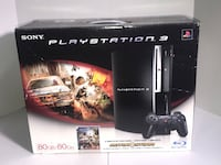 black Sony PS3 slim console with controller and game cases Orlando, 32837