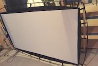 """Outdoor Movie Screen, High Resolution, 92""""  Lawrenceville, 30046"""