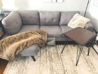 Grey sectional couch from structube. modern Toronto, M1T 1J2