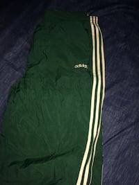 Forest green Adidas track pants  Mississauga, L5M 7X8