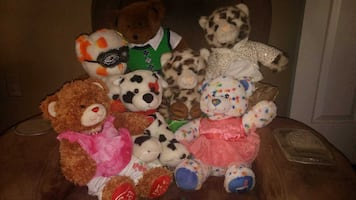Build A Bears.... several types with outfit $20ea