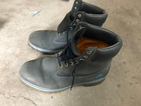 Men timberland boots size 12 blue  Laval, H7S 1Y3