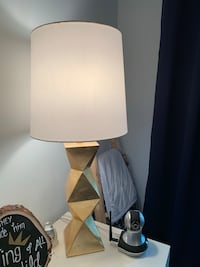 Gold Table Lamp Chevy Chase Section Three, 20815