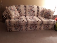 3 piece sofa loveseat  and chair
