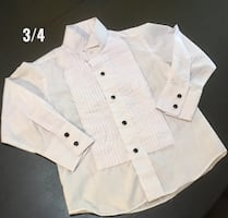 Tuxedo Style Dress Shirt