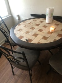 Dining table complete set