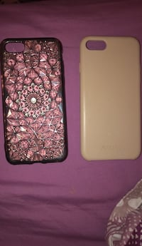 two pink and white iPhone cases ] Coquitlam, V3H