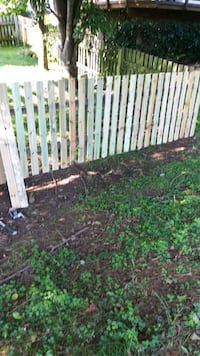 white and brown wooden fence Sterling, 20164