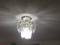 3 Mini Chandeliers - $60 OBO for all 3  Toronto, M6H 3X7