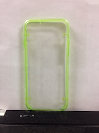 green clear plastic iPhone7 case