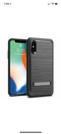 iPhone XS Max brushed case with magnetic kickstand Surrey, V3W 2X5