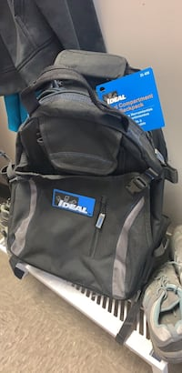 Ideal dual compartment tool backpack Edmonton, T6B 3N6
