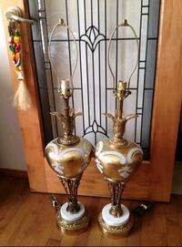 ☆☆☆ 2 - BEAUTIFUL HIGH QUALITY TALL LAMPS!! ☆☆☆ Edmonton, T6R
