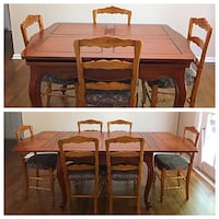Antique Dining Set Vienna, 22180