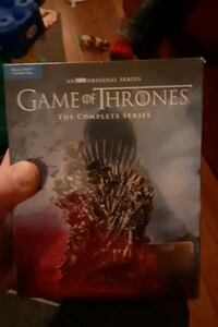 Game of thrones complete series 1-8 on dvd