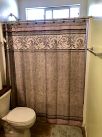 One Shower curtain and carpets mint & sage green with brown & beige Las Vegas, 89183