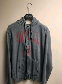 gray and red zip-up hoodie St. Catharines, L2S 3R7