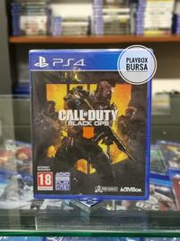 CALL OF DUTY BLACK OPS 4 - SIFIR - PLAYBOX BURSA Osmangazi, 16050