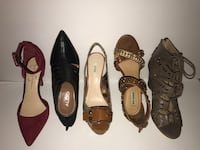 four pairs of assorted color shoes Monterey, 93940