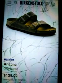 black Birkenstock footbed sandal screenshot 253 mi