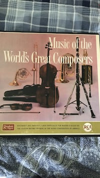 Vinyl record of words greatest composers Fort Worth, 76120