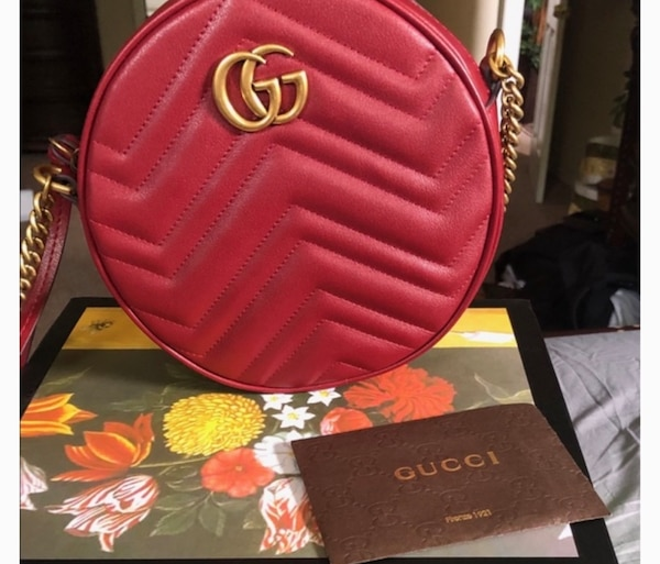 6c400469aa8dd5 Used red Gucci leather belt with box for sale in New York - letgo