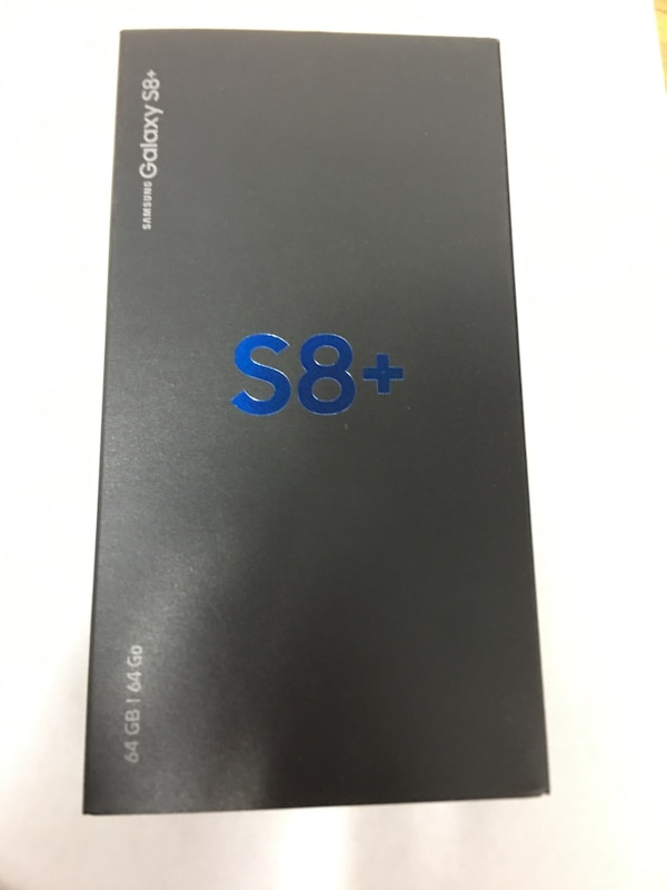 Samsung S8+ 64GB with flip case cover